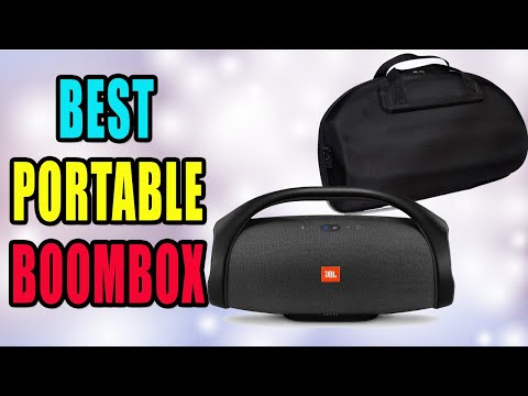 Best Portable Wireless Boomboxes of 2020 | Top 3 Portable BlueTooth Boomboxes Reviews | Buying Guide