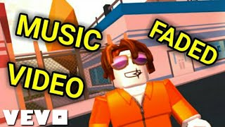 Faded - Alan Walker (Roblox Jailbreak Music Video)