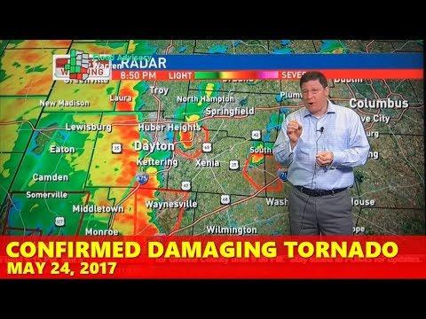 May 24, 2017 Damaging EF1 Tornado: WRGT-TV (Multiple Confirmed Tornadoes)