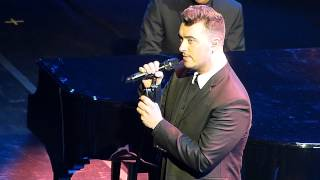 "Jonathan BREAK-UP NEWS & ""Good Thing"" (Live at ACC, Toronto, 20 January 2015) - SAM SMITH"