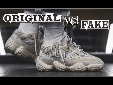 info for 93c3f 4e891 Adidas Yeezy Desert Rat 500 Blush Original & Fake