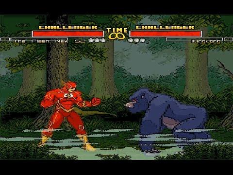 Mugen : Flash New 52 (Dc Comics) Vs King Kong (Request)