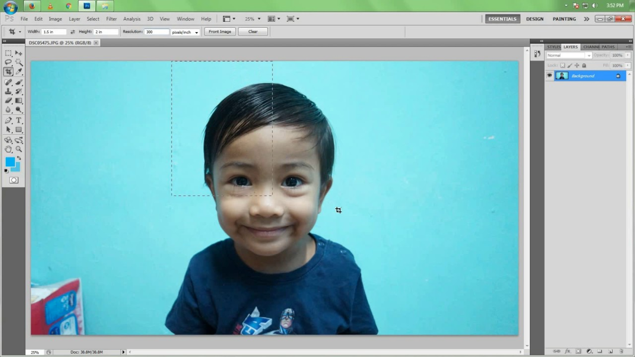 Cara Edit Gambar Passport Guna Microsoft Word