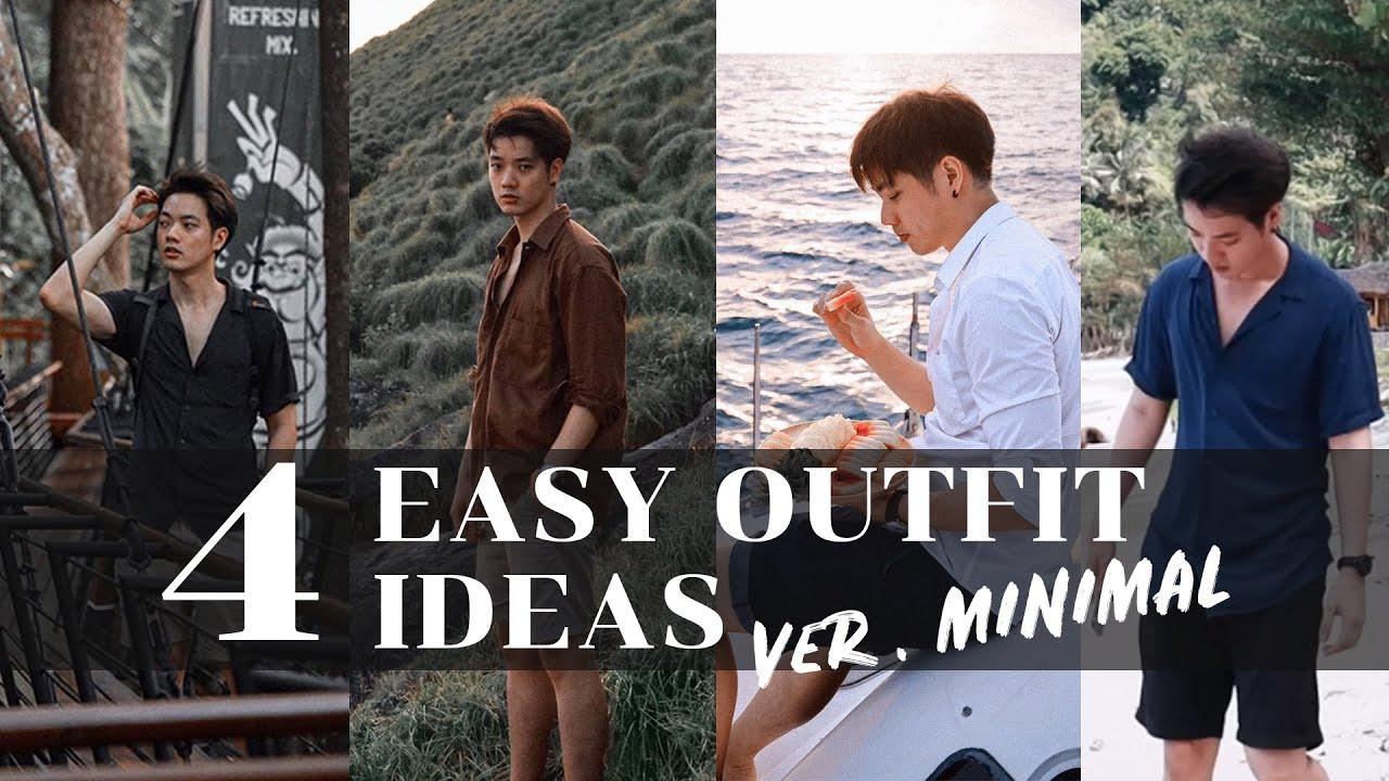 แต่งตัวเที่ยวทะเล 4 ลุค ด้วยเสื้อเชิ้ต ดูดีได้แบบ Minimal | Here's Jae