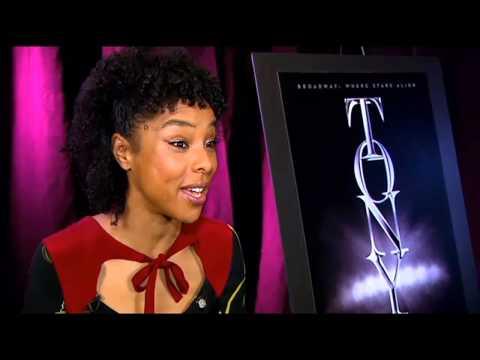 CBS 2's Dana Tyler Talks With Tony Nominee Sophie Okonedo