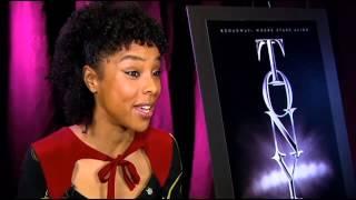 CBS 239s Dana Tyler Talks With Tony Nominee Sophie Okonedo