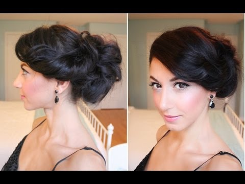 Celebrity Inspired Side Up-Do
