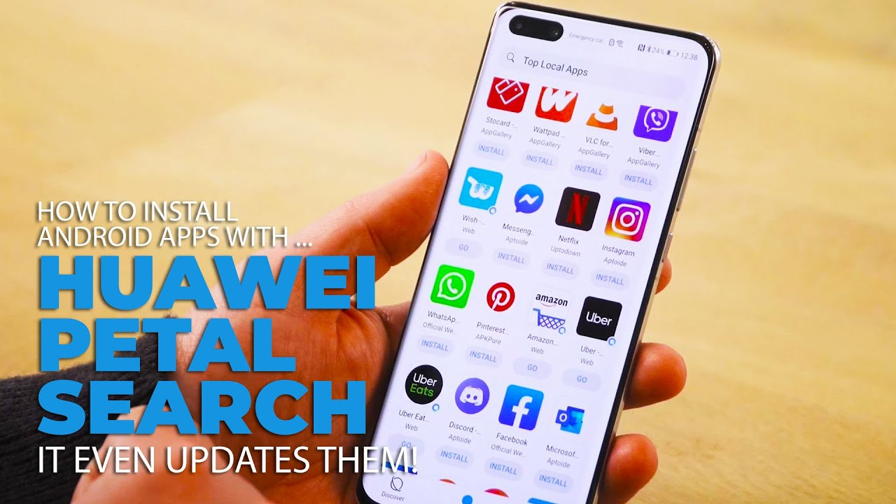 Get Your Favourite Android Apps on a Huawei Phone With Petal Search - GetConnected Media