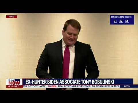 """HUNTER BIDEN LIED"" Tony Bobulinski SAYS He HAS EVIDENCE Against Joe And Hunter Biden"