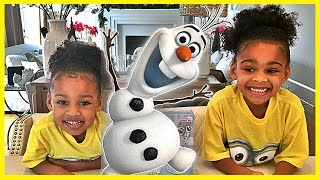 Olaf Marshmallow Cookie Pops Kit for Kids Baking - A Kids Toys Review