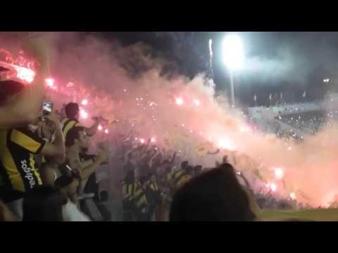 Recibimiento Peñarol Clasico