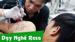 Học Xăm hình nghệ thuật - Body art Tattoo
