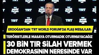 Başkan Erdoğan'dan Flaş Açıklamalar! / A Haber