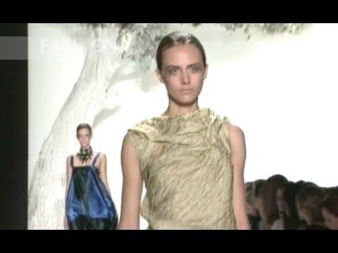 VERA WANG Spring Summer 2008 New York - Fashion Channel