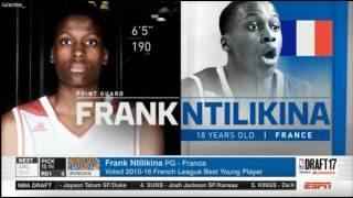 FRANK NTILIKINA - 8th Overall Pick (NEW YORK KNICKS) 2017 Draft