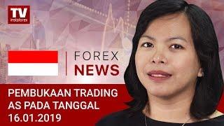 InstaForex tv news: 16.01.2019: Apa yang Mendorong Pertumbuhan USD?