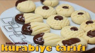 aynı hamurdan farklı şekillerde kurabiye tarifi - bu kurabiyeler harika oldu