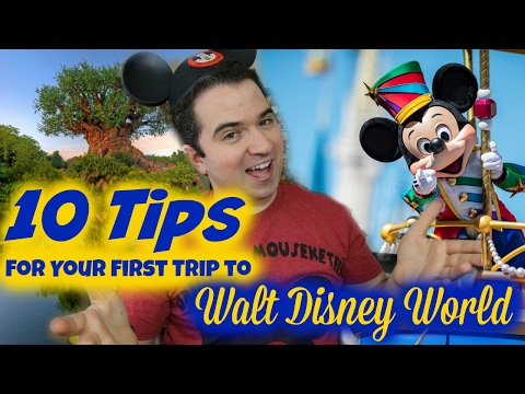 10 Tips For Your First Walt Disney World Vacation