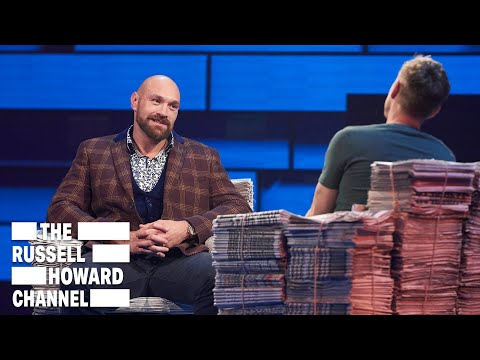 Tyson Fury Opens Up About Mental Health Struggles | Full Interview | The Russell Howard Hour thumbnail
