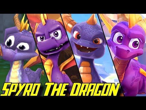 Evolution Of Spyro (1998-2018)