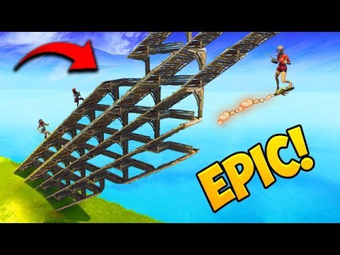 INSANE BUILDING TRICK! - Fortnite Funny Fails and WTF Moments! #398