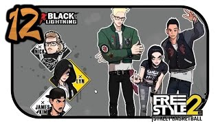 Black Lightning James Kim - FreeStyle 2 Street Basketball Part 12 [HD / Online / German]