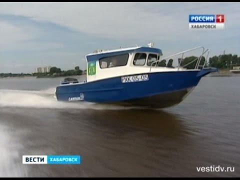"""Вести-Хабаровск. Производство катеров """"Гарпун"""""""