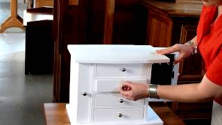 Four Drawer Jewelry Chest
