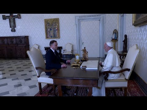 Pope Francis to President of Poland: Thank you for what you do for Europe