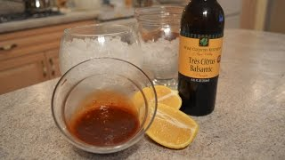 How To Make Napa Valley Tres Citrus Balsamic Cocktail Sauce: Cooking With Kimberly