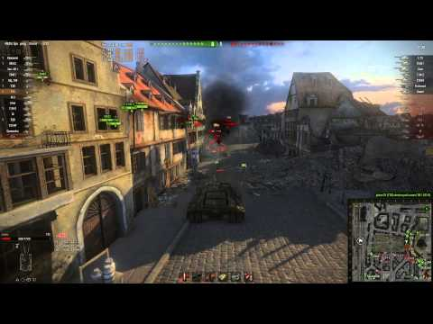 World of Tanks - T95 Tier 9 Tank Destroyer - The Turtle of DOOM!