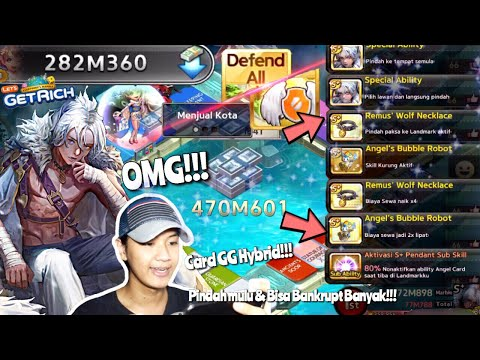 GAMEPLAY S+ REMUS!!! CARD GG PARAH!!! | LINE LET'S GET RICH INDONESIA