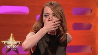 Repeat youtube video Graham Spices Up Emma Stone's Life - The Graham Norton Show