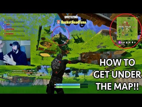 Game Breaking Glitch In Fortnite Battle Royale! (UNDER THE MAP TROLL)