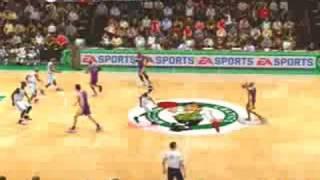 NBA Live 09 Gameplay