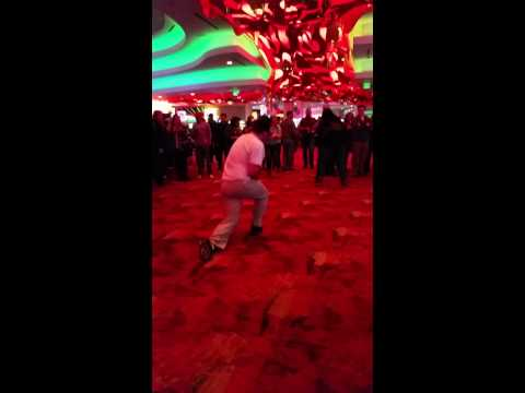Random guys dancing at Mystic Lake Casino 2
