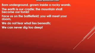 """Diggy Diggy Hole"" by Yogscast Lyrics"