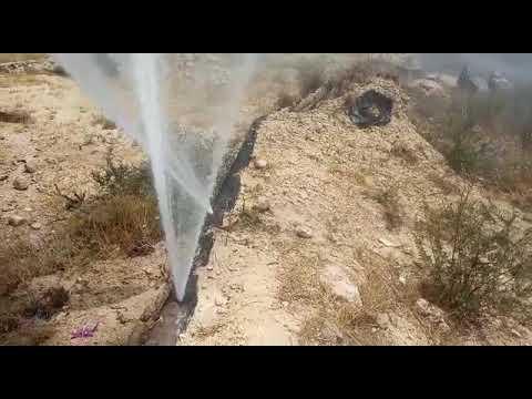 פיצוצים בצינורות המים בהר חברון בעקבות חבלה של ערבים