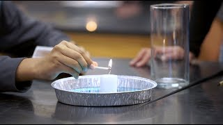 This Science Demo is LIT!  Air Pressure Demonstration