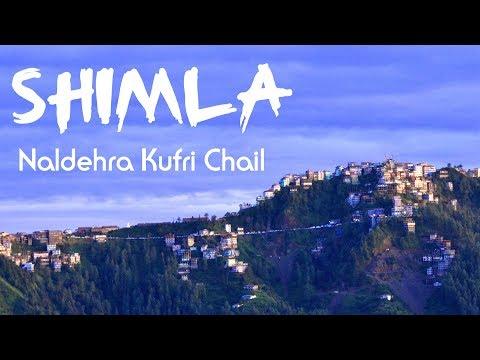 Chandigarh to Shimla Monsoon Full Road Trip - August 2017 - 4K Ultra HD