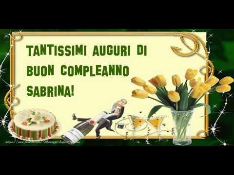 Tanti Auguri Di Buon Compleanno Sabrina Farmaciatesti