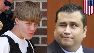 Dylann Roof & George Zimmerman assaulted: Roof & Zimmerman both get beat down - TomoNews