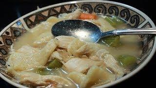Old Time Chicken & Dumplings From Scratch ~ Easy