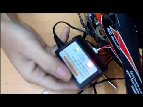 How To Fly And Charge Helicopter WLToys V913?