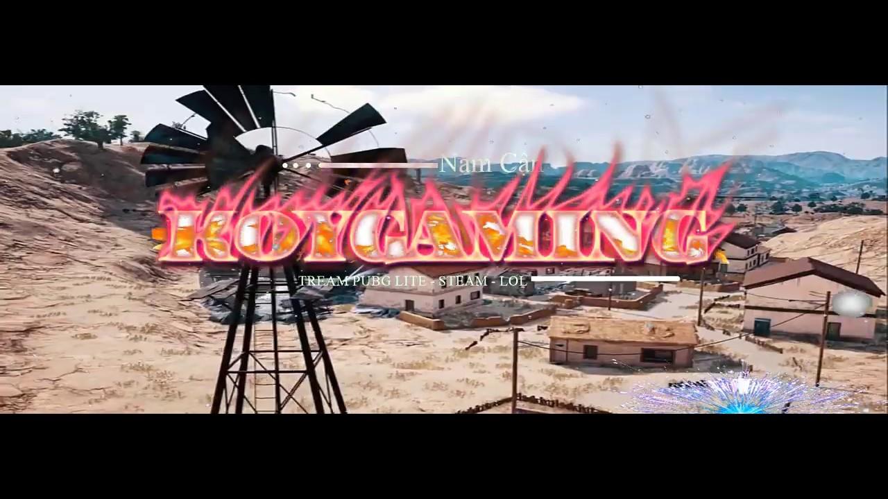 Demo Video ảnh bìa Facebook PUBG