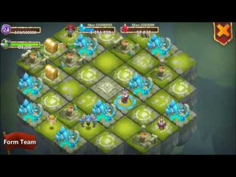 Castle Clash LEVEL 24 Lost Realm With LEVEL 24 MINES