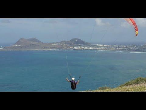 L'anticyclone des Açores, voler dans les Grandes Canaries