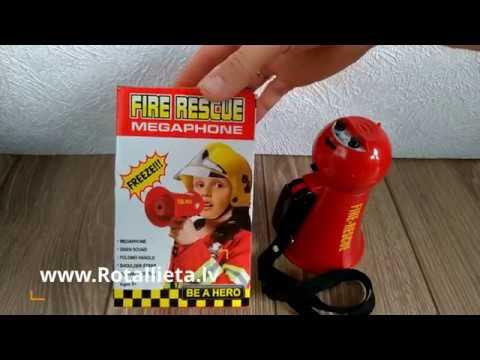 Ugunsdzēsēja megafons bērniem - Fire rescue