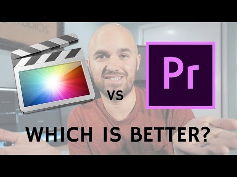 Adobe Premiere vs Final Cut Pro X - Which is better? A compl