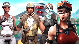 OG RECON EXPERT Clan Mobbte Me as NOSKIN then I showed RENEGADE RAIDER that happened..! Fortnite